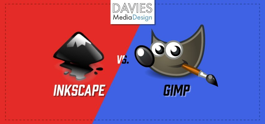 Inkscape vs  GIMP - Which One Should You Use? | Davies Media