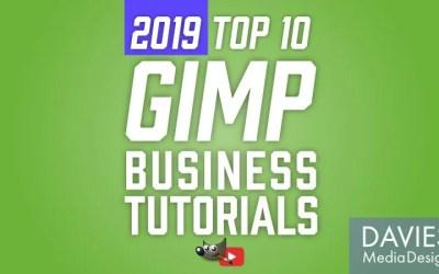 Principales tutoriales de 10 GIMP para empresas
