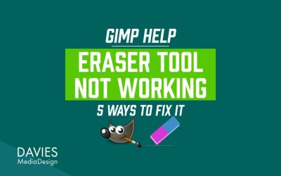 GIMP Eraser Not Working? Here's How to Fix It