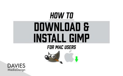 How to Download and Install GIMP 2.10 for MAC