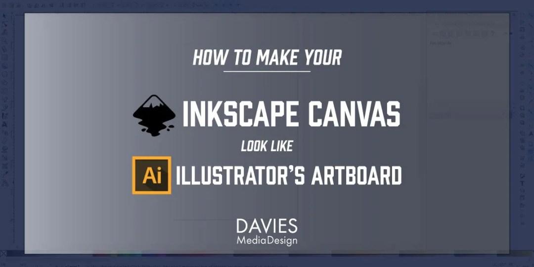 Comment faire en sorte que le canevas d'Inkscape ressemble à l'Artboard d'Adobe Illustrator