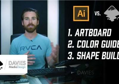 Illustrator vs Inkscape: Porovnání oblíbených funkcí 3