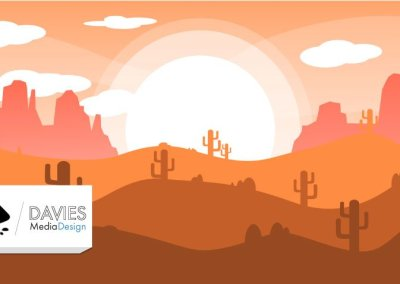 Inkscape Tutorial: Flade Vector Landscape Design