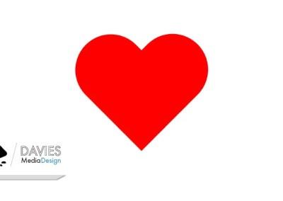 Sådan tegnes en hjerteform i Inkscape
