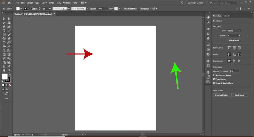 New Letter Artboard Illustrator vs Inkscape Tutorial
