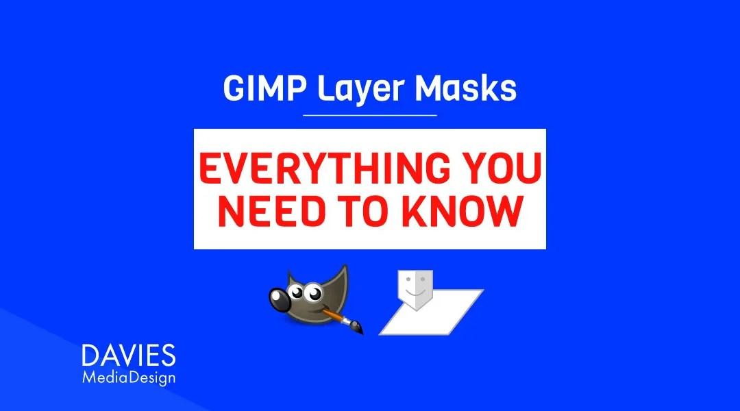 GIMP Layer Masken: Alles wat Dir musst wëssen