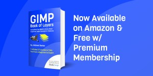 GIMP Book of Layers Now Available on Amazon