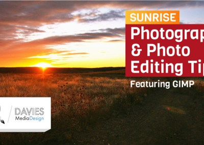 Sunrise Photography and Photo Editing Tips Featuring GIMP