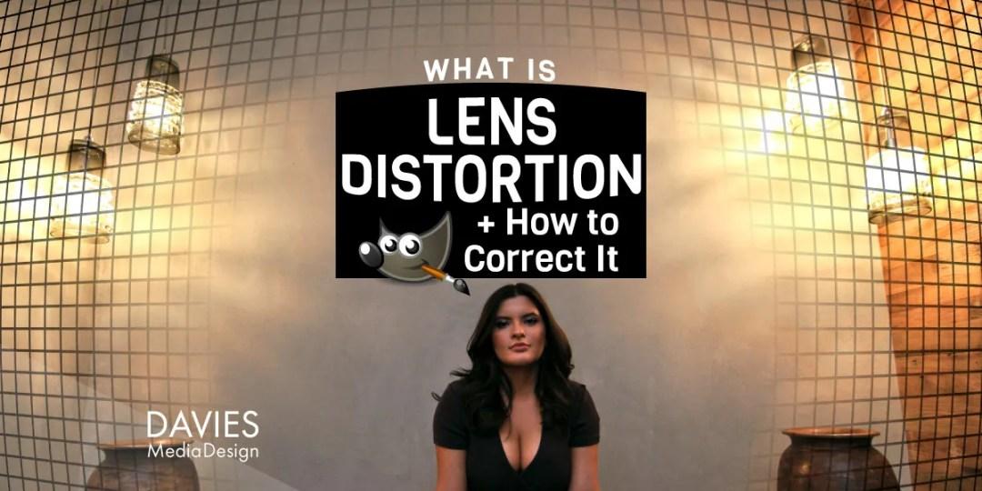 Was ist Linsenverzerrung und wie korrigiert man sie? GIMP-Hilfeartikel