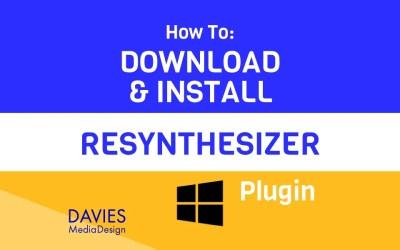 Cómo descargar e instalar el complemento GIMP Resythesizer para Windows