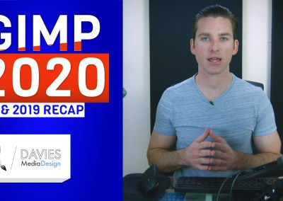 GIMP 2020 Preview an 2019 Recap