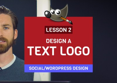 Lecture 2: Creating a Text Logo