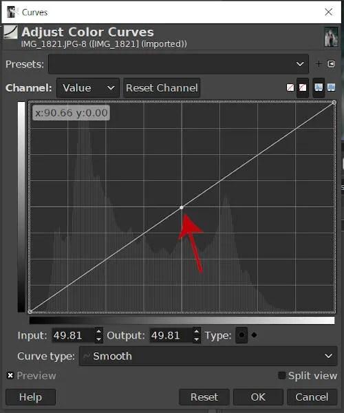 Creación de una herramienta de curvas Node GIMP 2020