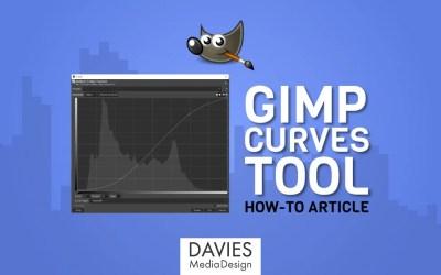 Kako se koristi alat krivulje u GIMP-u