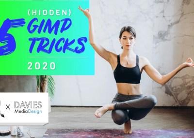 5 Verborgen GIMP-trucs I LOVE voor 2020