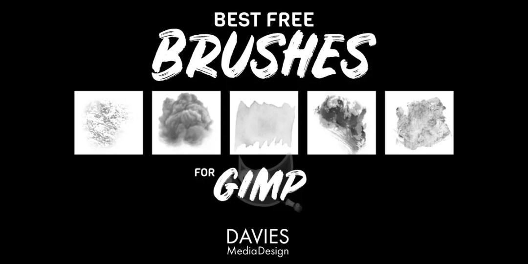 Pi bon Bwòs gratis pou GIMP 2020