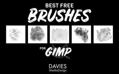 Los mejores pinceles gratuitos para GIMP en 2020