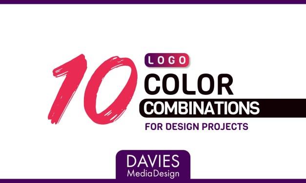 10 Logo Faarfkombinatiounen fir Ären Designprojeten