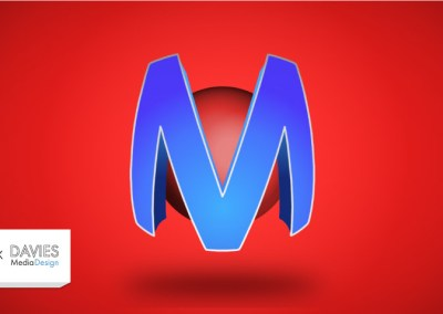 GIMP ออกแบบโลโก้ | เอฟเฟกต์ข้อความห่อทรงกลม 3 มิติ