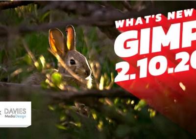มีอะไรใหม่ใน GIMP 2.10.20