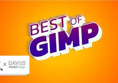 GIMP: n viisi suosituinta tekstiefektiä