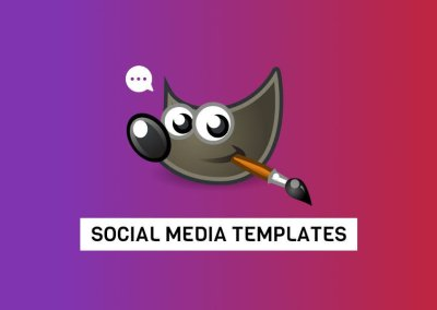 Free GIMP Templates for Your Social Media Projects
