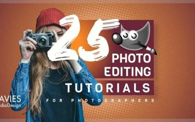 25 GIMP Photo Editing Tutorials for Photographers
