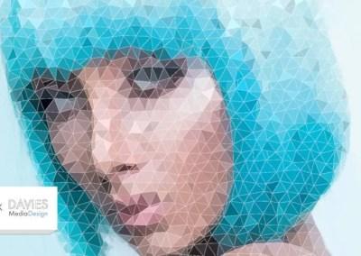 Create a Low Poly Portrait in GIMP | Super Easy Technique