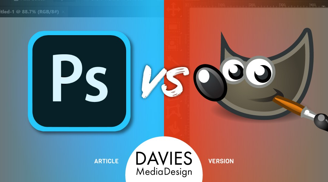GIMP vs. Photoshop: a Complete Comparison (Article Version)
