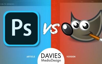 GIMP vs Photoshop: një krahasim i plotë (versioni i artikullit)