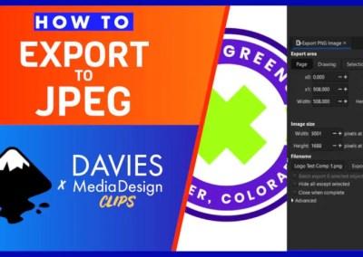 Acum puteți exporta în JPEG în Inkscape 1.1 (plus alte formate) | Clipuri DMD