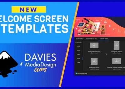 Noul ecran de întâmpinare și șabloane ale Inkscape 1.1 | Clipuri DMD