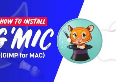 Cara Menginstal Plugin G'MIC untuk GIMP untuk MAC