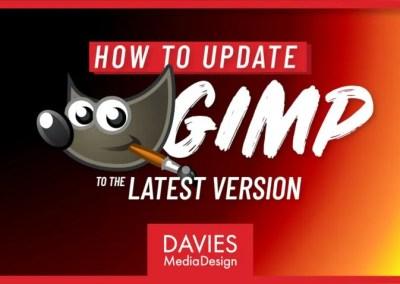 Cara Update GIMP ke Versi Terbaru