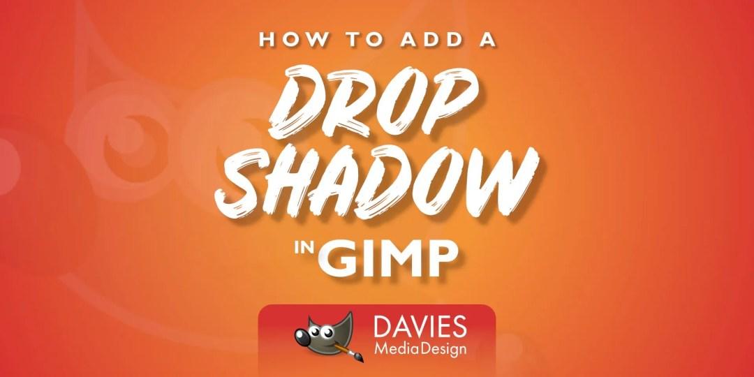 Csepp árnyék effektus hozzáadása a GIMP súgócikkében