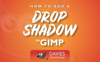 Comment ajouter une ombre portée dans GIMP
