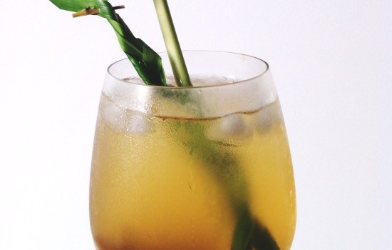 Pandan Lemongrass Cooler