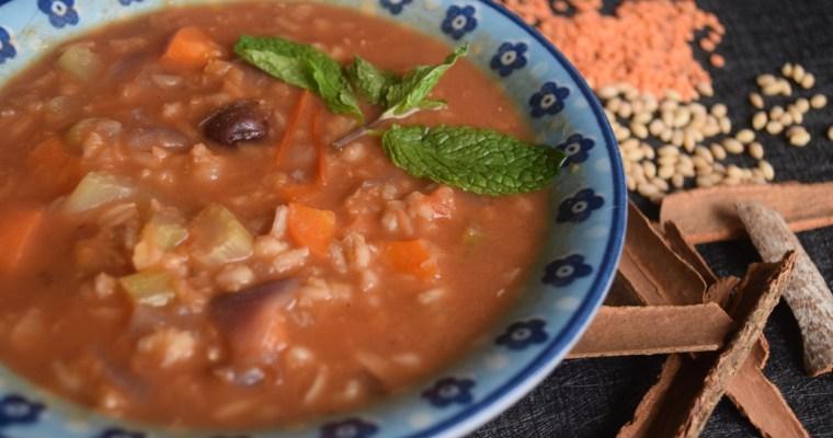 Lentil Tomato Barley Stew