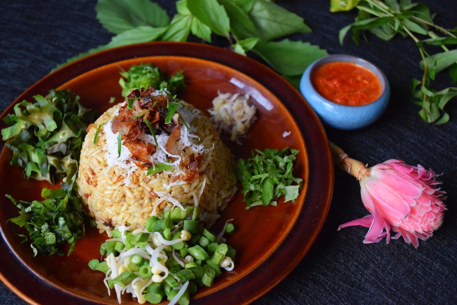 Nasi Oo-Laa-Lam (Malay Herb Rice)