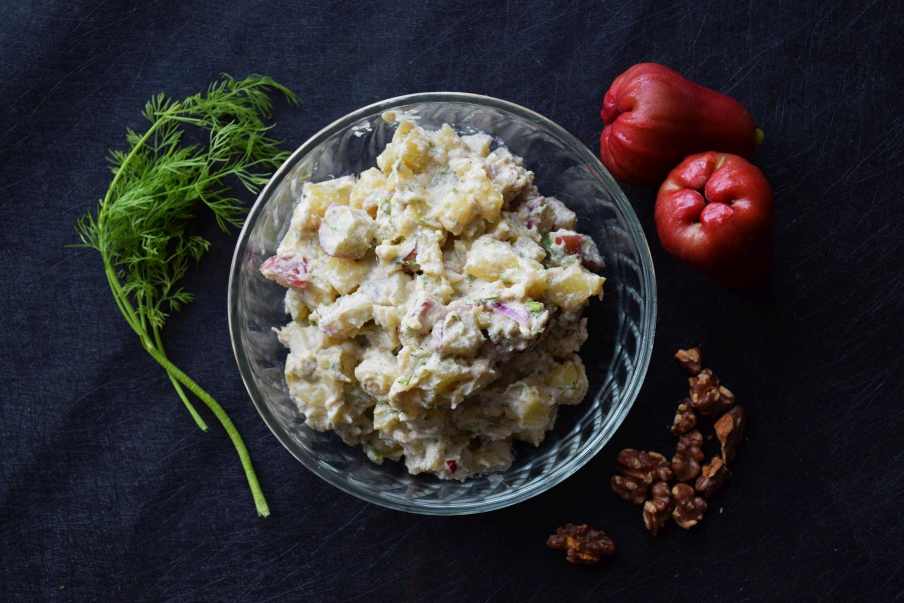 Potato Salad with Water Apple (Jambu Air)