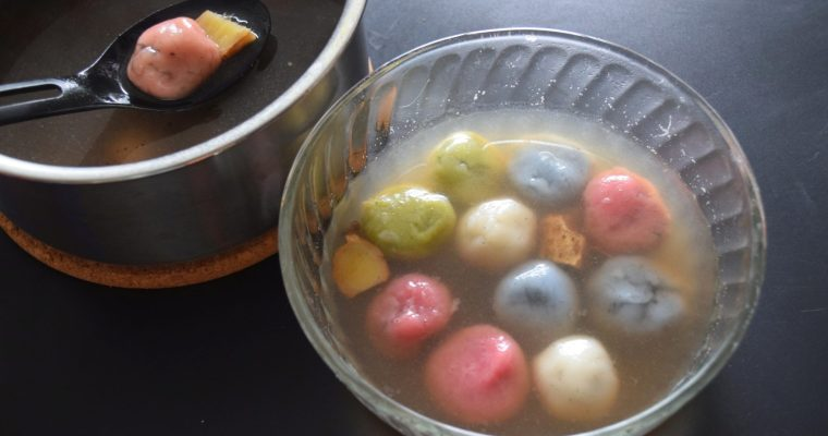 Tang Yuan (Glutinous Rice Balls with Sesame Paste Filling)