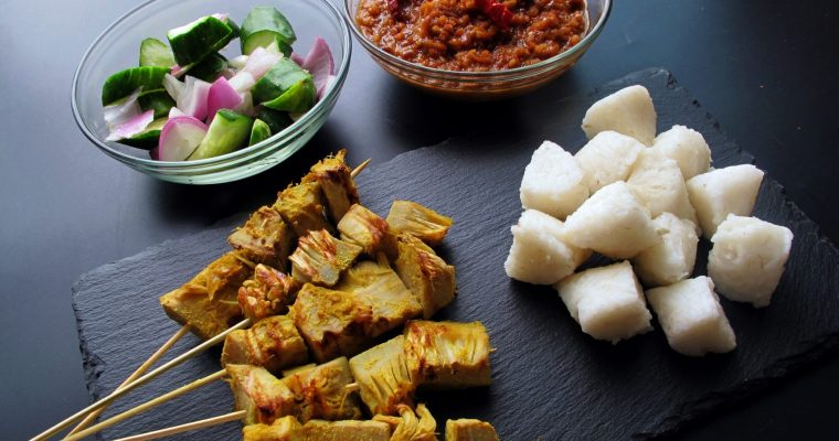 Jackfruit Satay with Peanut Sauce