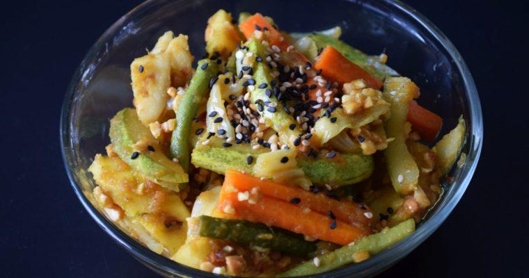 Nyonya Acar (Malaysian Pickled Vegetables)