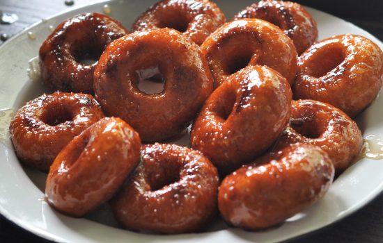 Mini Sweet Potato Doughnuts
