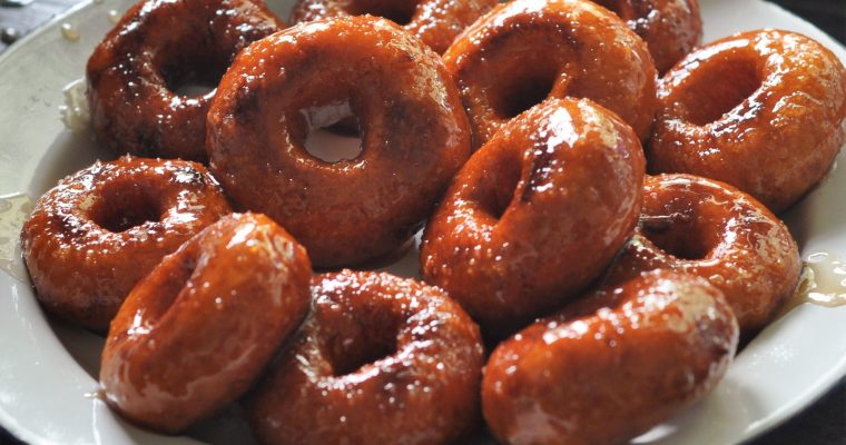 Mini Sweet Potato Doughnuts