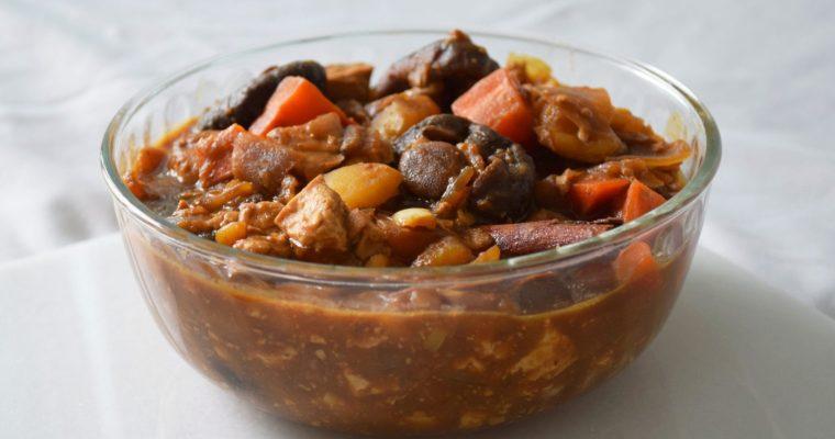 Pong Teh (Nyonya Fermented Bean Stew)