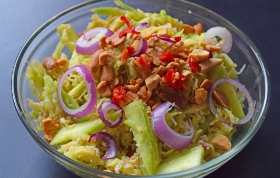 Easy Mango Kerabu (Malaysian Mango Salad)
