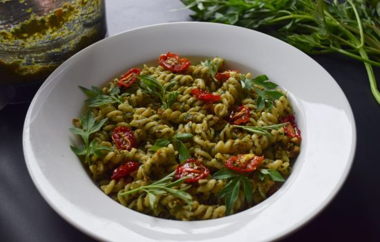 Ulam (Malaysian Herbs) Peanut Pesto