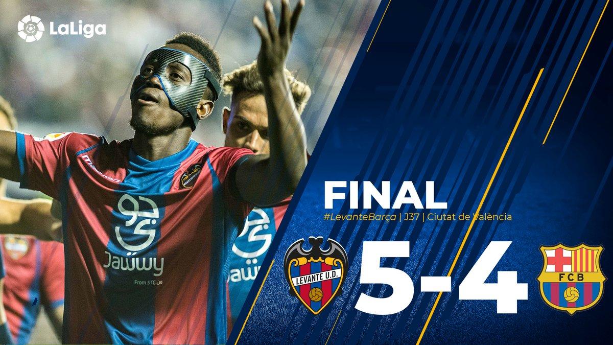 VIDEO: Levante 5 - 4 Barcelona [La Liga] Highlights & Goals 2017/18