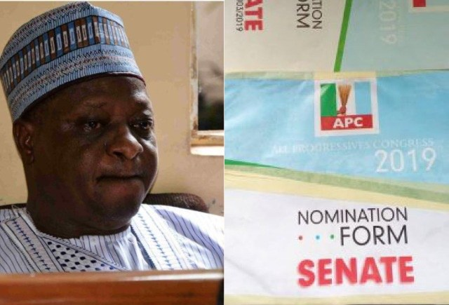 PDP Reacts As Joshua Dariye Submits APC Nomination Form From Prison